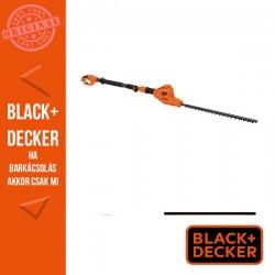 BLACK & DECKER 550W Magassági sövényvágó, 51 cm késhossz, 1,12 m hosszú nyél