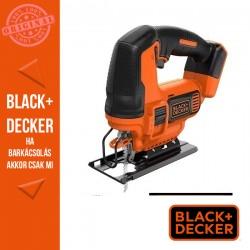BLACK & DECKER BDCJS18N-XJ 18V Dekopírfűrész akku és töltő nélkül