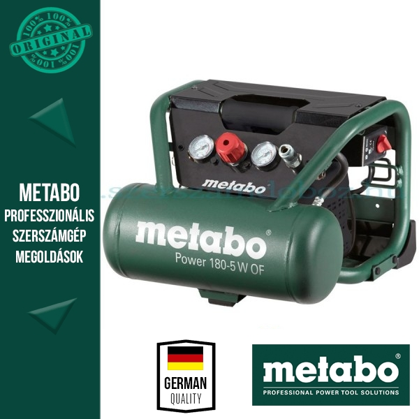 Metabo Power 180-5 W OF Kompresszor