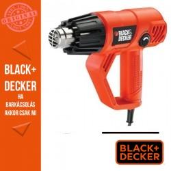 BLACK & DECKER 2000W hőlégfúvó, változtatható hőfokállítás
