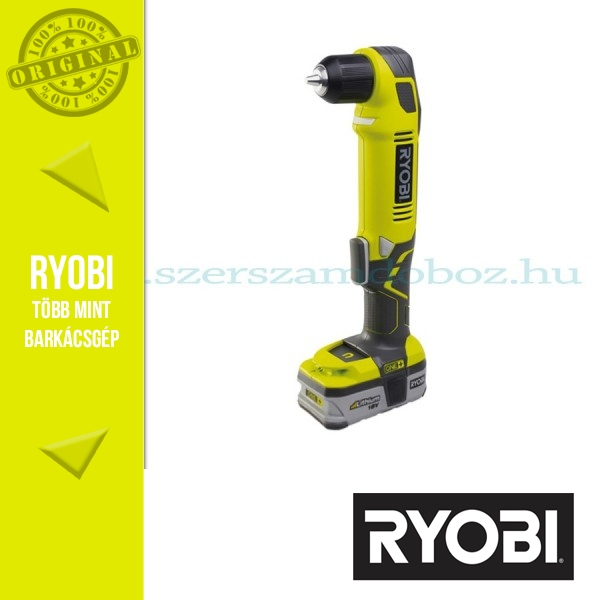 Ryobi RAD1801M Akkus sarokfúró 18V 4,0Ah