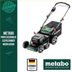 METABO RM 36-18 LTX BL 46 Akkus fűnyíró akuszettel (2x 4,0 Ah akku)