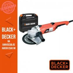 BLACK & DECKER 2000W, 230mm Sarokcsiszoló + koffer