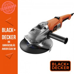 BLACK & DECKER 2000W, 230mm Sarokcsiszoló