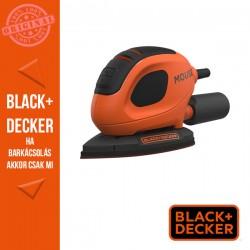 BLACK & DECKER 55W Mouse® dekorcsiszoló, 15  tartozék