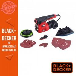 BLACK & DECKER 220w Autoselect 4 az 1-ben multicsiszoló + tartozékok