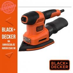 BLACK & DECKER 220W, 4 az 1-ben multicsiszoló (vibrációs csiszoló, excenter csiszoló, ujjcsiszoló)