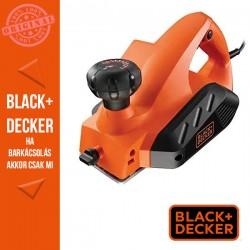BLACK & DECKER 650W gyalu 0-2 mm. Késszélesség 82mm, falcmélység 8 mm