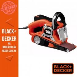BLACK & DECKER KA88-QS Szalagcsiszoló, felhajtható orr-rész, 720W