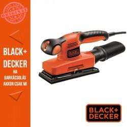 BLACK & DECKER 135W vibrációs csiszoló, 90 x 187mm csiszolótalp méret
