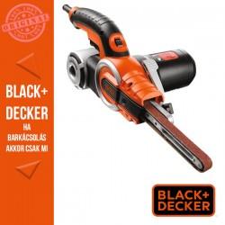 BLACK & DECKER 400W Nútcsiszoló, tartozékok, 13mm szalag, koffer