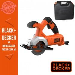 BLACK & DECKER 400W, 85 mm mini körfűrész + koffer