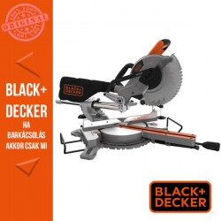 BLACK & DECKER 1600W, 216mm gérfűrész