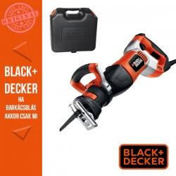 BLACK & DECKER 1050W Orrfűrész, 3 fűrészlap + koffer