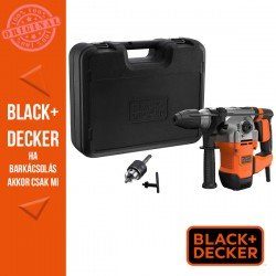 BLACK & DECKER 1250W 3,7J SDS+  fúrókalapács + koffer