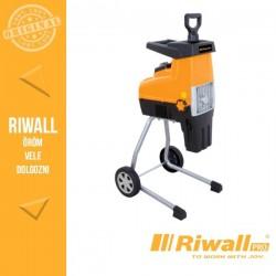 Riwall PRO RES 3044 Elektromos ágaprító 3000W, hengeres