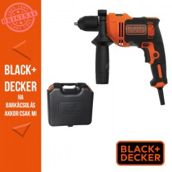 BLACK & DECKER 710W ütvefúró + koffer