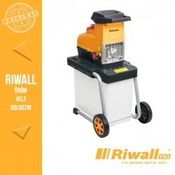 Riwall PRO RES 3044 B Elektromos ágaprító 3000W, átlátszó gyűjtőedénnyel