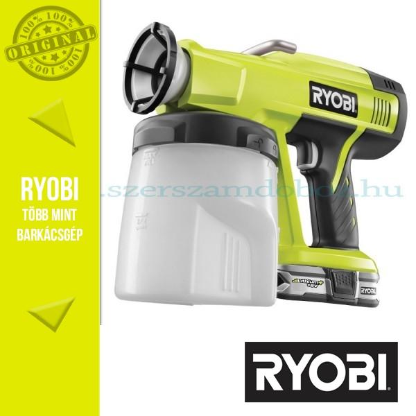 Ryobi P620 Akkus festékszóró 1x 2,5Ah