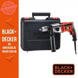 BLACK & DECKER 850W ütvefúró, 2 mech sebességfokozat