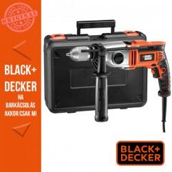 BLACK & DECKER 910 W két sebességes ütvefúró