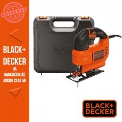 BLACK & DECKER 520W változtatható sebességű dekopírfűrész + koffer