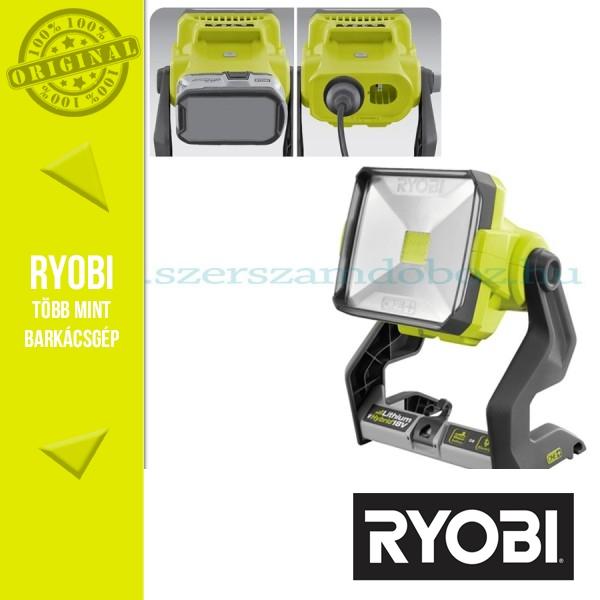 Ryobi R18ALH Hibrid térmegvilágító lámpa (ONE+) 2x 4,0Ah
