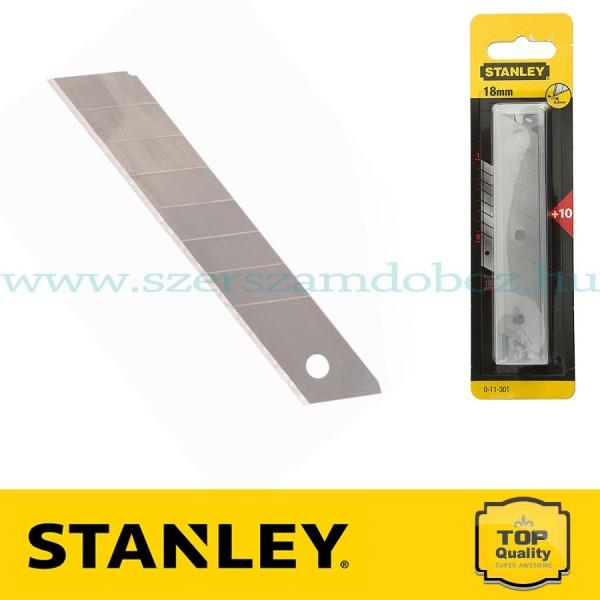 Stanley Tördelhető penge 18 mm 10 db