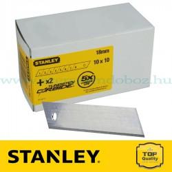 Stanley Tördelhető penge 18 mm 100 db