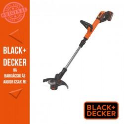 BLACK & DECKER 18V 4.0 Ah Li-Ion akkus fűszegélyvágó, 30 cm vágási szélesség, Powercommand funkcióval