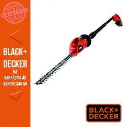 BLACK & DECKER 18V 2Ah Li-ion akkus magassági sövényvágó. 43 cm késhossz, akku és töltő nélkül