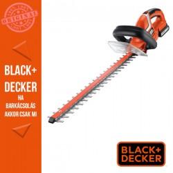 BLACK & DECKER 18V 2Ah Li-ion akkus magassági sövényvágó. 45 cm késhossz