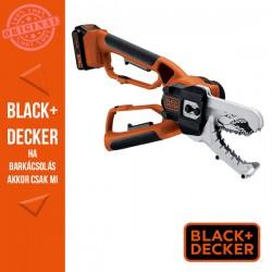BLACK & DECKER 18V, 2 Ah Li-ion akkus  alligátor ágazófűrész, 1A töltő