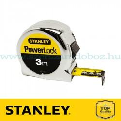 Stanley PowerLock mérőszalag 3 m