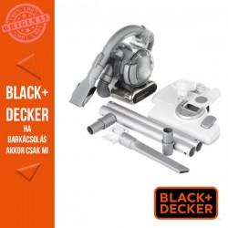 BLACK & DECKER 18V LI-ION akkumulátoros flexi morzsaporszívó, 25W padlótisztító készlettel