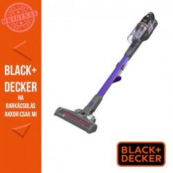 BLACK & DECKER 18V 2 Ah 4:1ben kézi porszívó levehető hosszabbító csővel, 400mA töltővel