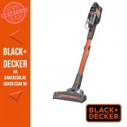 BLACK & DECKER 18V 2 Ah 4:1ben kézi porszívó levehető hosszabbító csővel,csereakkuval 400mA töltővel