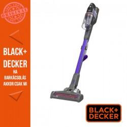 BLACK & DECKER 18V 2 Ah 4:1ben kézi porszívó levehető hosszabbító csővel, 4mA töltővel, fali konzollal