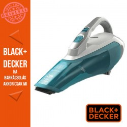 BLACK & DECKER 10.8V/1.5Ah (16,2 Wh) Li-Ion morzsaporszívó Fehérkék színben