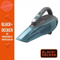 BLACK & DECKER 10.8V/1.5Ah (16,2 Wh) Li-Ion morzsaporszívó titán/kék színben