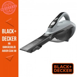 BLACK & DECKER 10.8V 2.5Ah morzsaporszívó cyclonic funkcióval, töltőkábellel