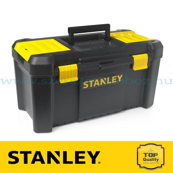 Stanley Műanyagcsatos szerszámosláda csavartartóval