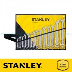 Stanley Csillag-villáskulcs készlet tartóban 14 részes