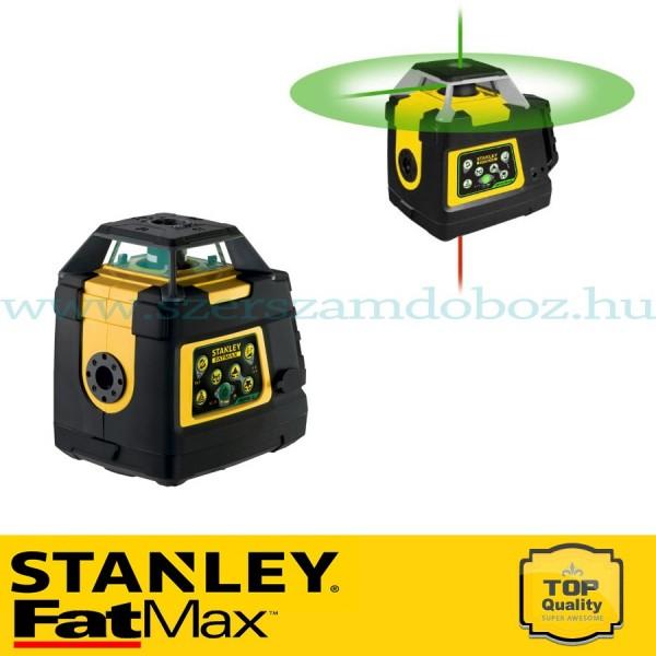 Stanley FatMax Rotációs zöldsugarú lézer RL HVPW