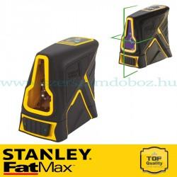 Stanley FatMax FCL-G Keresztsugaras zöld lézer