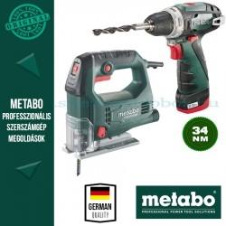 Metabo STEB 65 Quick Szúrófűrész + BS PowerMaxx Fúró-csavarozó