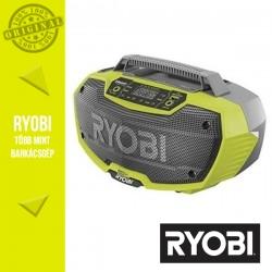 Ryobi R18RH-0 18V akkumulátoros sztereó rádió bluetooth-al alapgép