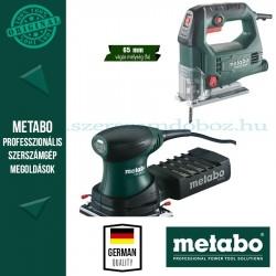 Metabo STEB 65 Quick Szúrófűrész + FSR 200 Intec Rezgőcsiszoló
