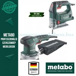 Metabo STEB 65 Quick Szúrófűrész + SXE 3125 Excentercsiszoló