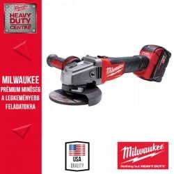Milwaukee M18 CAG125X-202 - 18V 125 MM SAROKCSISZOLÓ